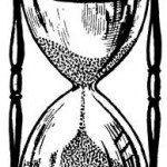 Turn the hour glass upside down to create more time…..