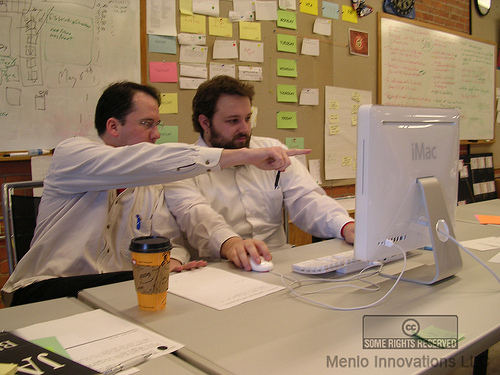 photo: Proximate Pair Programming