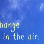 Sustainability - Change is in the Air