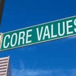 core value street sign