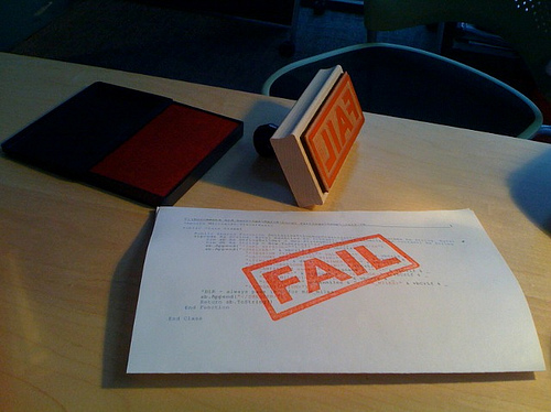 new project manager fail by hans.gerwitz via Flickr